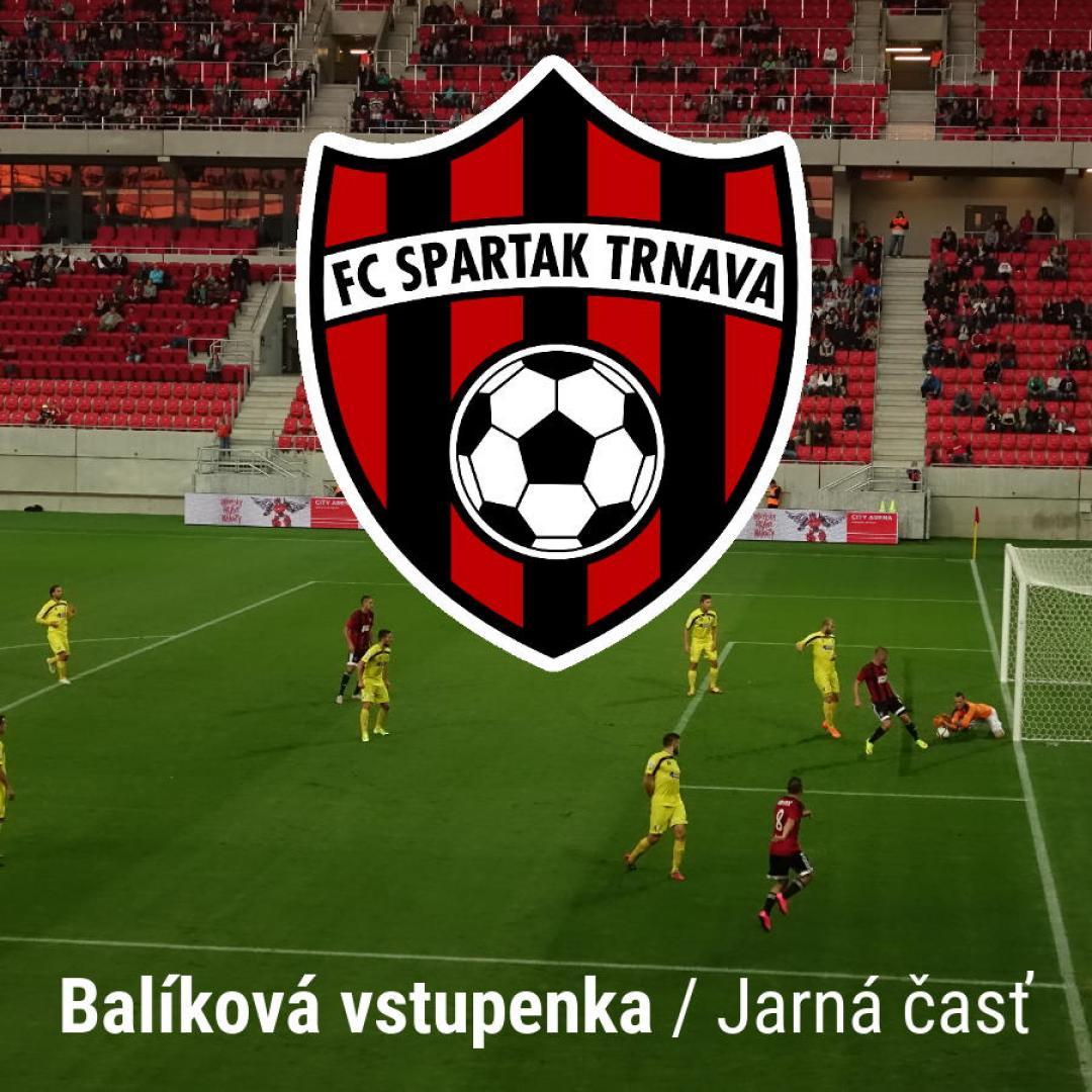 FC Spartak Trnava - jarná časť, balíková vstupenka