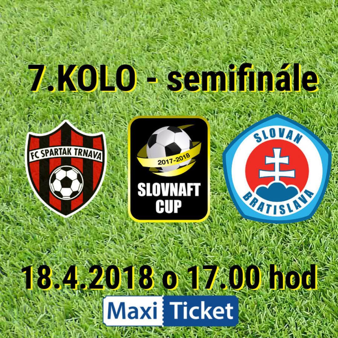 SLOVNAFT CUP - FC Spartak Trnava vs ŠK Slovan Bratislava