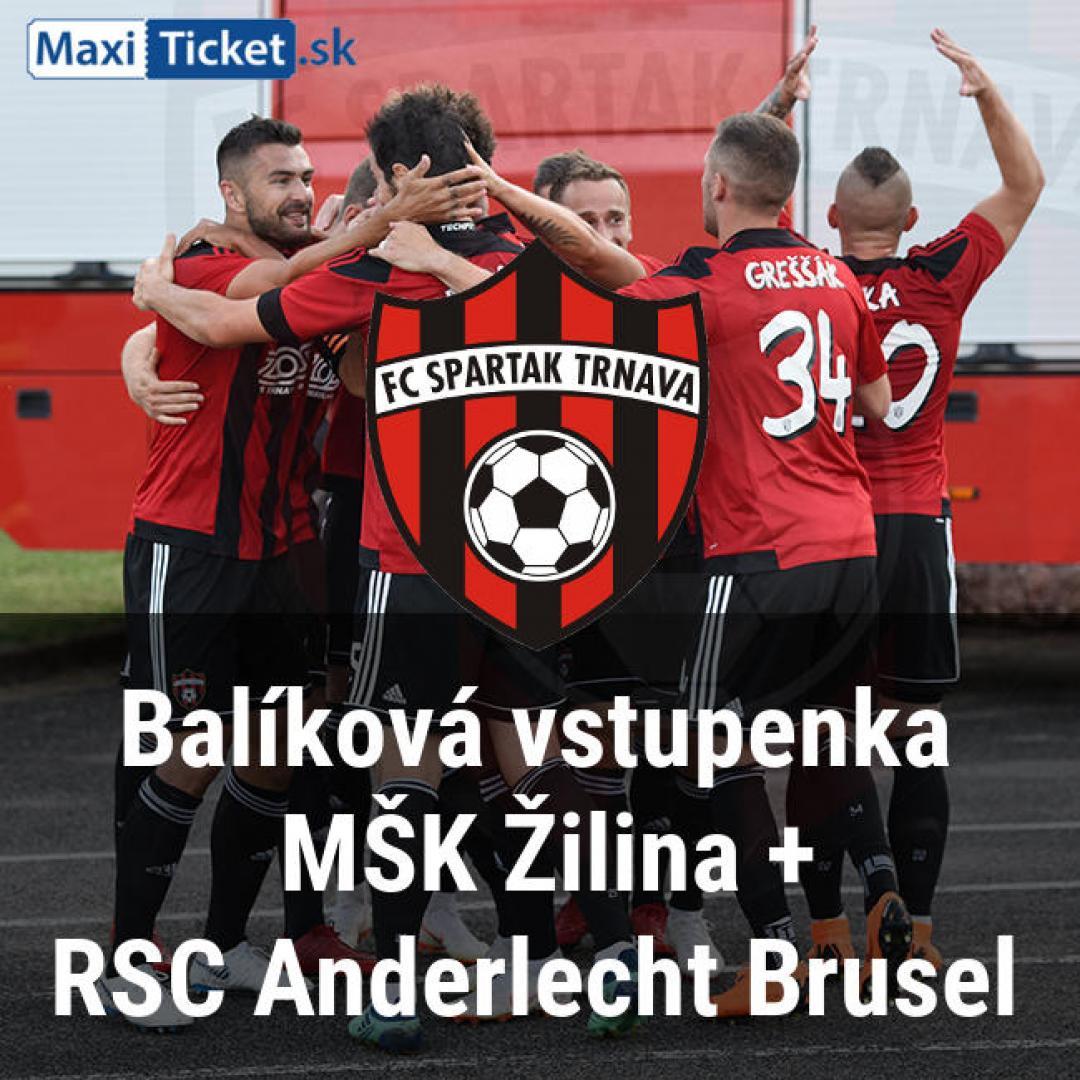 e16d523eda Balíková vstupenka Žilina(15.9 o 18 00) RSC Anderlecht Brusel(20.9 o ...