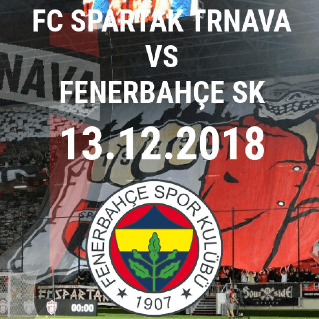 FC Spartak Trnava vs. Fenerbahçe SK