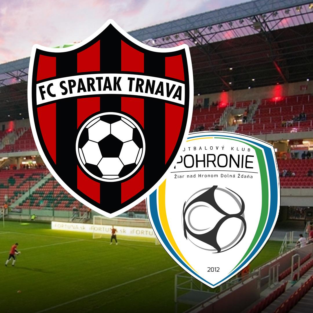 FC Spartak Trnava vs. FK Pohronie Žiar n.H. D. Ždaňa
