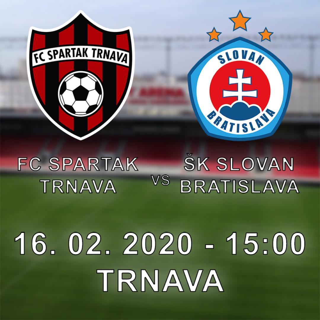FC Spartak Trnava vs. ŠK Slovan Bratislava