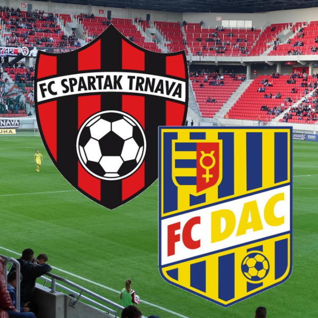 FC Spartak Trnava vs. FC DAC 1904 Dunajská Streda