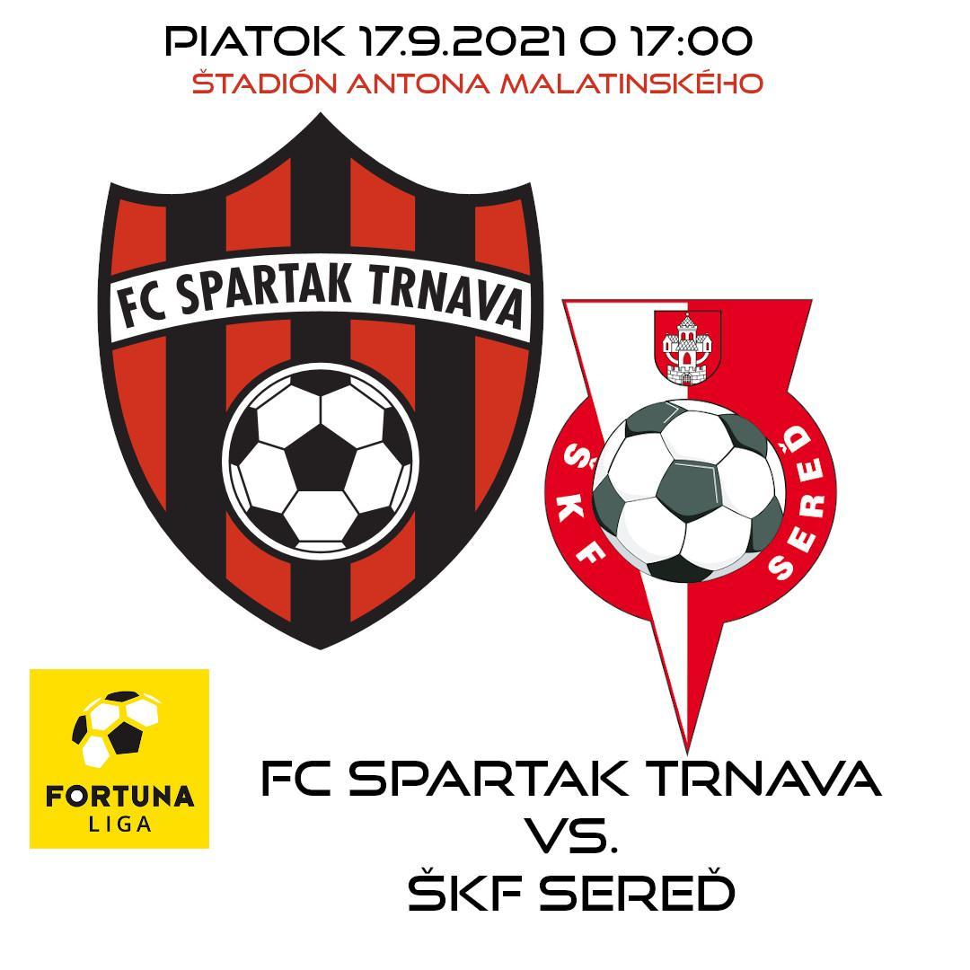 FC Spartak Trnava vs. ŠKF Sereď