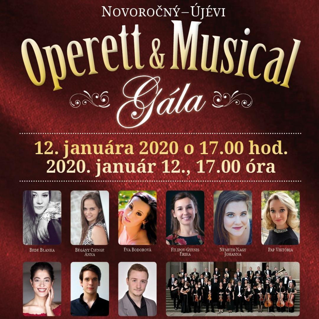 Újévi musical és operett gála 2020