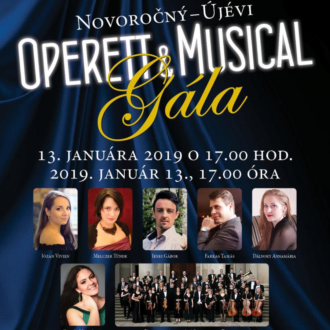 Újévi musical és operett gála 2019