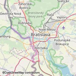 Bratislavský hrad - západná terasa, Zámocká 862/2, Bratislava