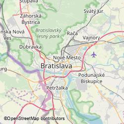 Dom odborov (Istropolis, zadný vch. zo Škultétyho 5), Trnavské mýto 1, Bratislava