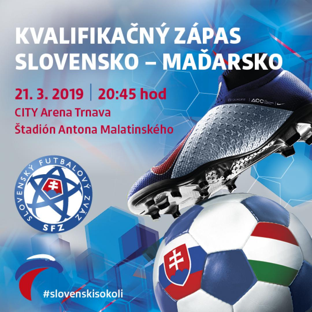 Kvalifikácia ME 2020 Slovensko - Maďarsko