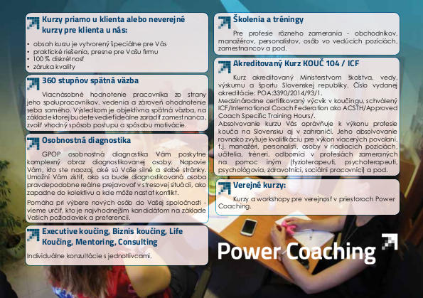 Power coaching 2