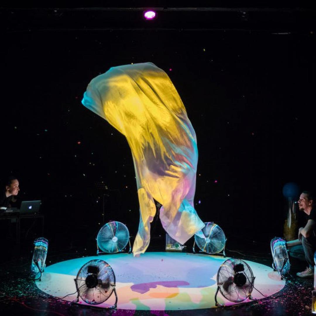 AERO, divadelné predstavenie pre batoľatá