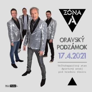 Koncert ZÓNA A / Oravský Podzámok