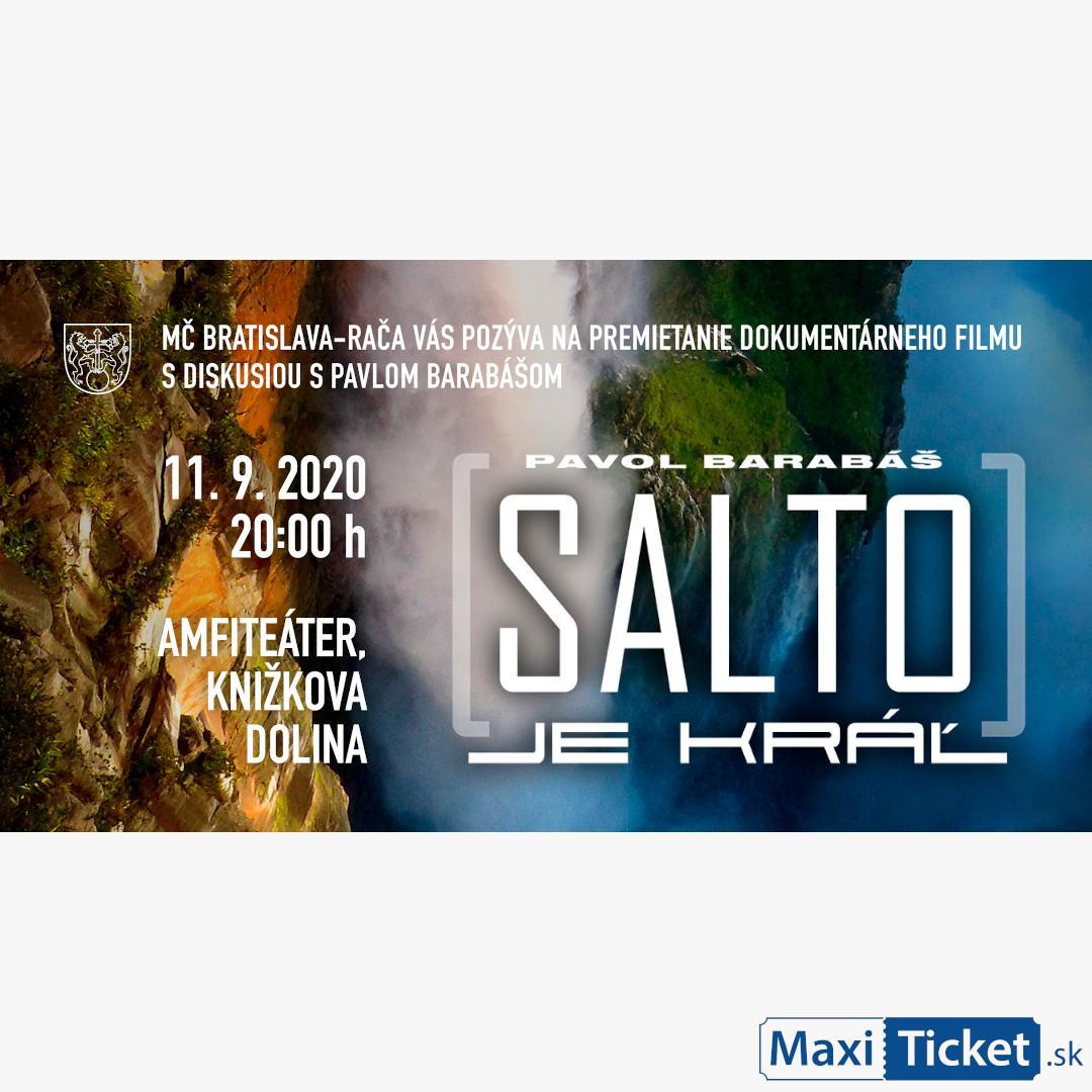 Pavol Barabáš/ Salto je kráľ / Rača