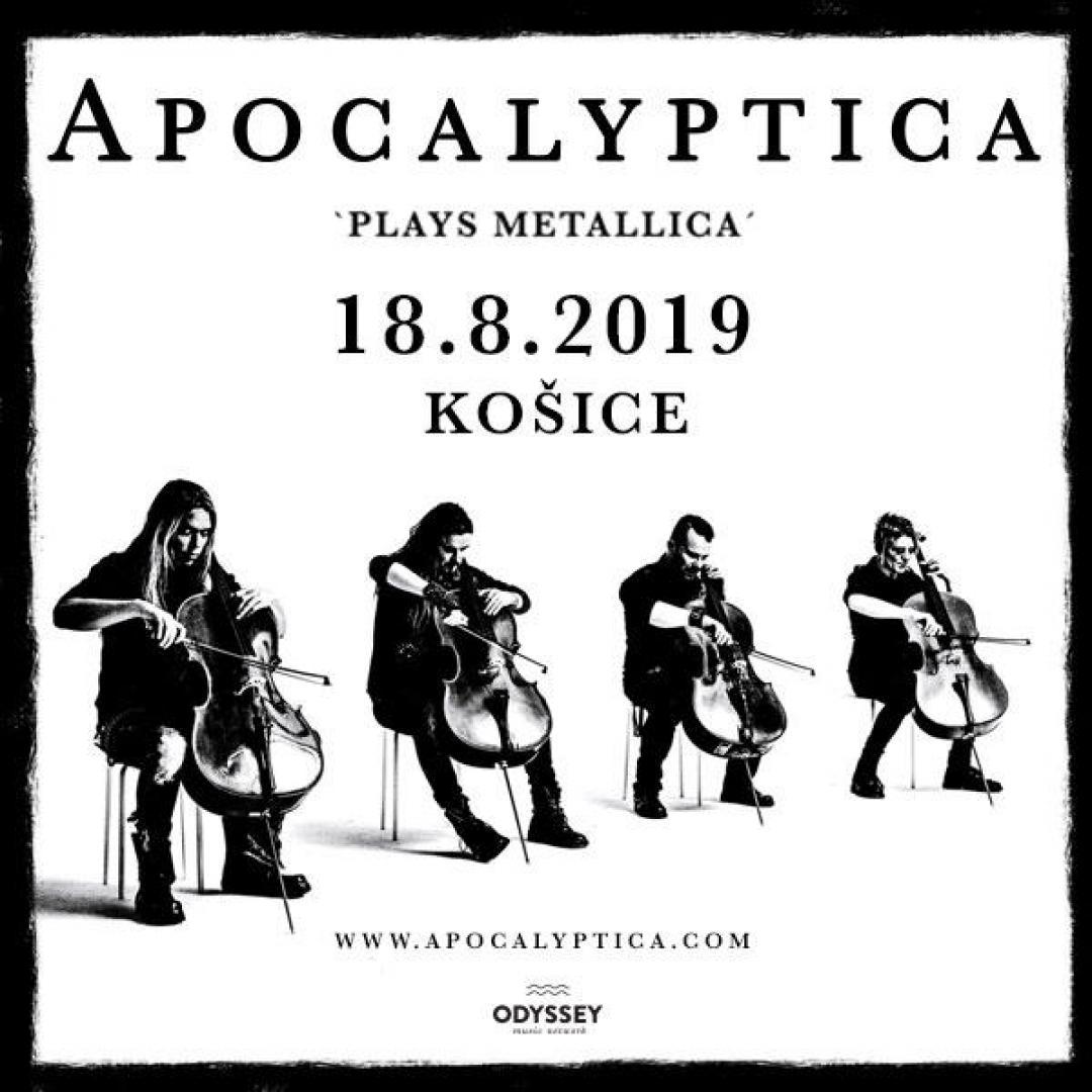 Apocalyptica (FIN) / Košice