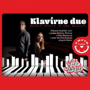 Klavírne duo - Live music - Amfikcafe Trnava