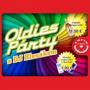 Oldies Párty s DJ Blesák- Amfik Cafe
