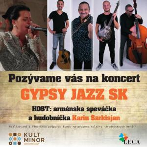 Gypsy jazz SK s Karin Sarkisjan