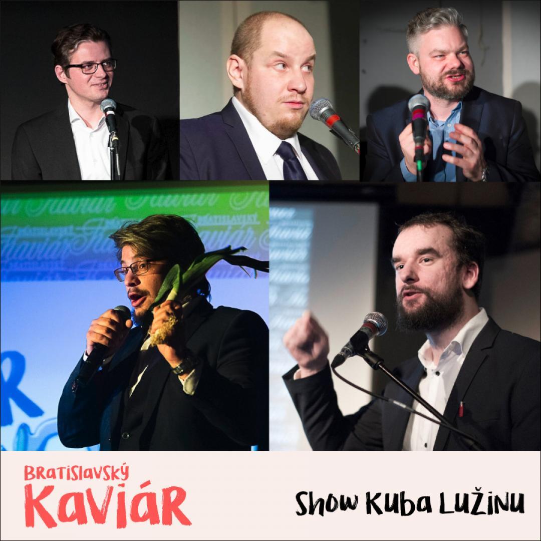 Bratislavský Kaviár Kuba Lužinu (30. apríl)