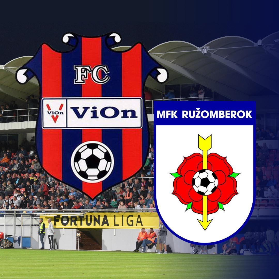 FC ViOn Zlaté Moravce-Vráble - MFK Ružomberok