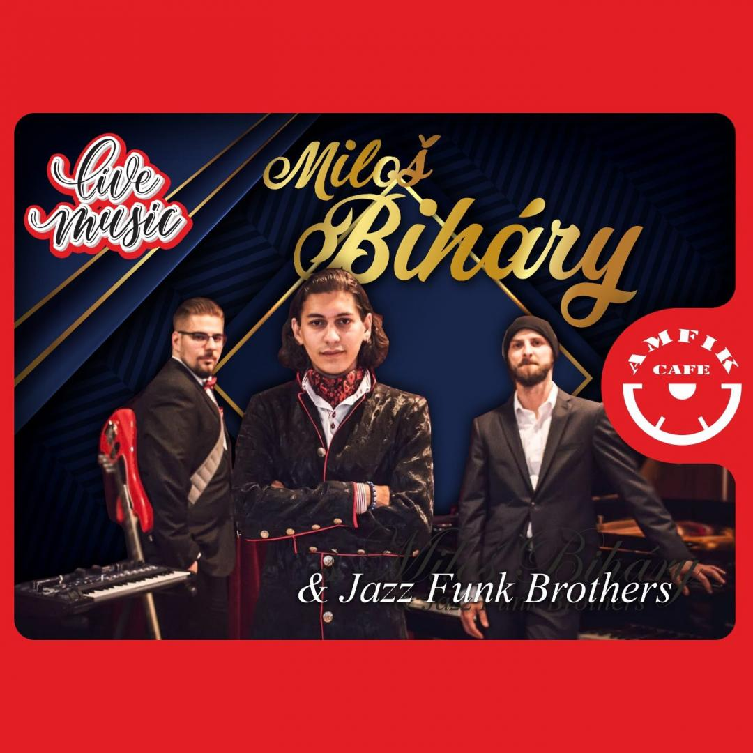 Miloš Biháry & Jazz Funk Brothers - Trnava - Amfikcafe