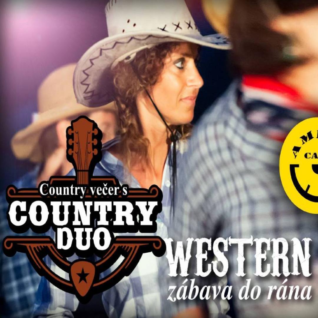 Country večer s Country duo - Western zábava až do rána