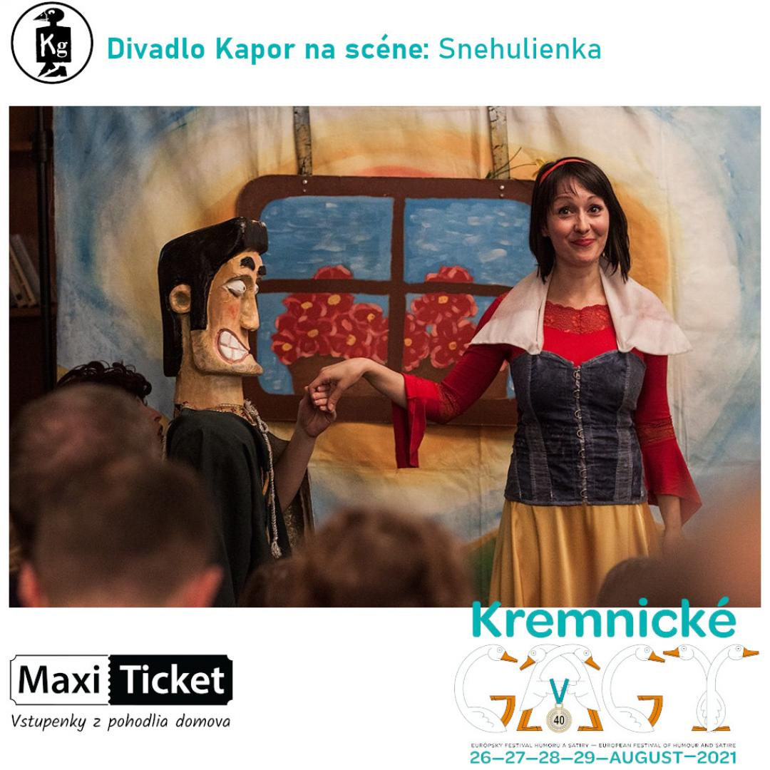 Divadlo Kapor na scéne: Snehulienka