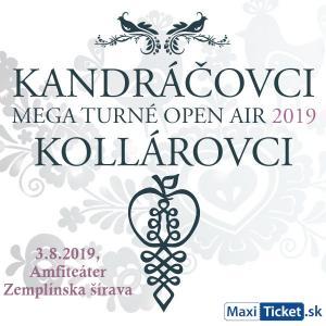 Kandráčovci - Mega turné OPEN AIR 2019, Zemplínska Šírava