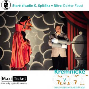 Staré divadlo K. Spišáka v Nitre: Doktor Faust
