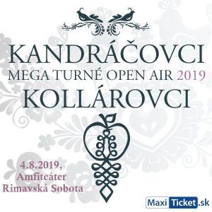 Kandráčovci - Mega turné OPEN AIR 2019, Rimavská Sobota