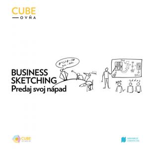 Cubeovňa: Business sketching