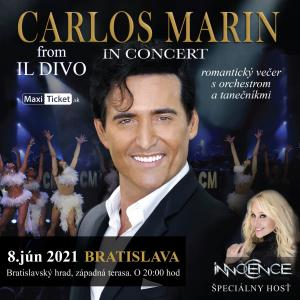 Carlos Marin from IL DIVO - Bratislava