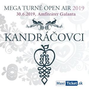 Kandráčovci - Mega turné OPEN AIR 2019, Galanta