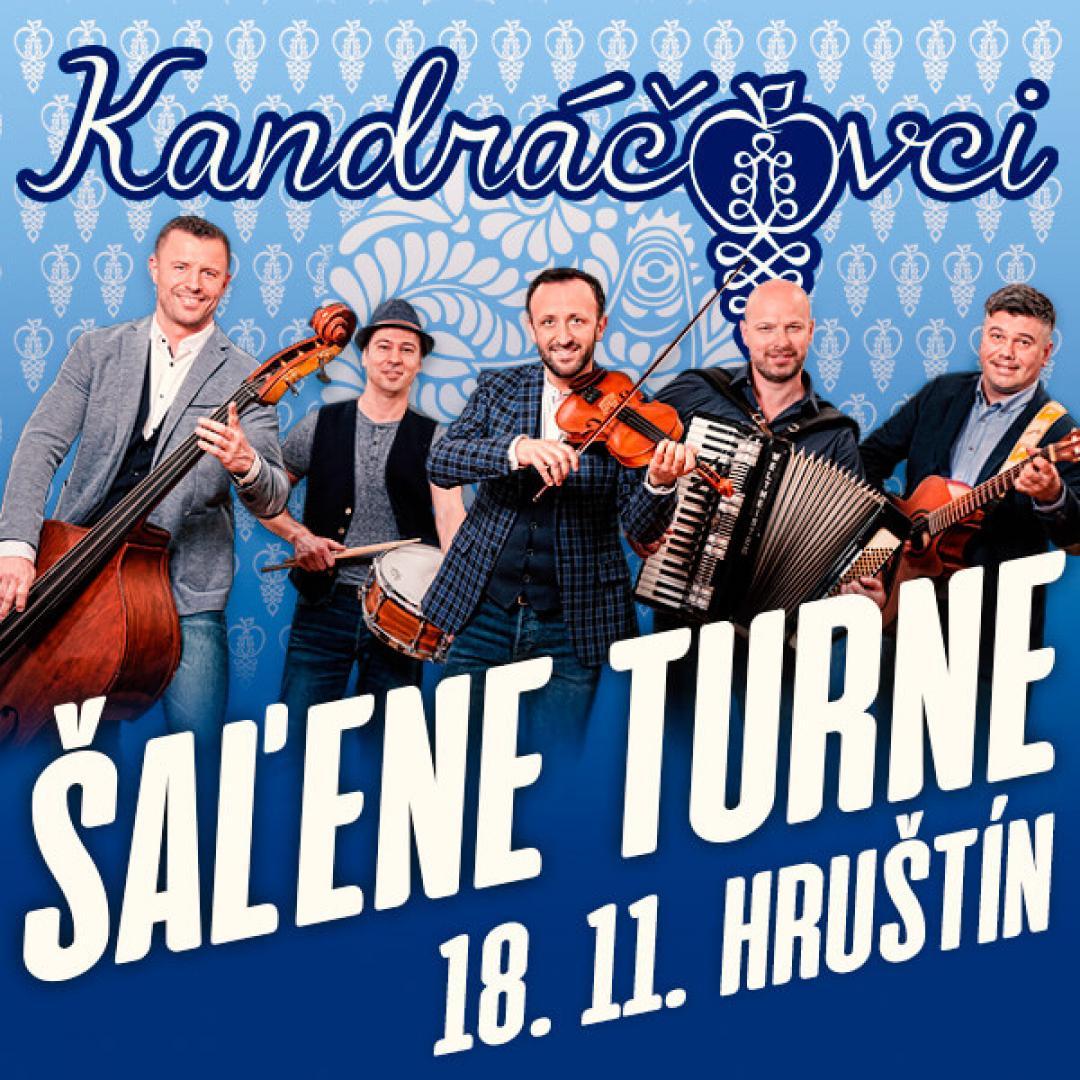 Kandráčovci - Šaľene turne, Hruštín