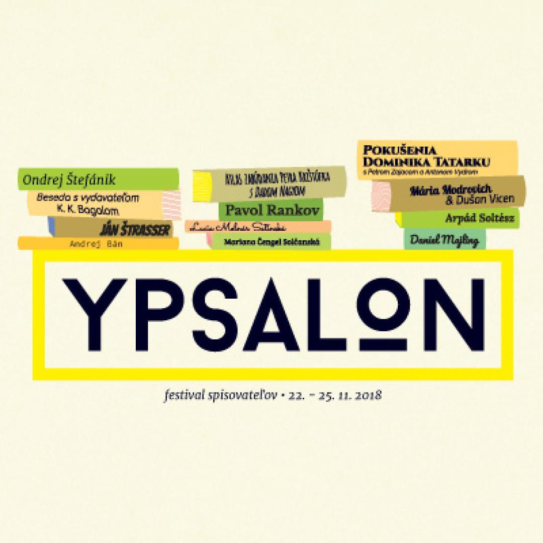Ypsalon 2018 / festival spisovateľov