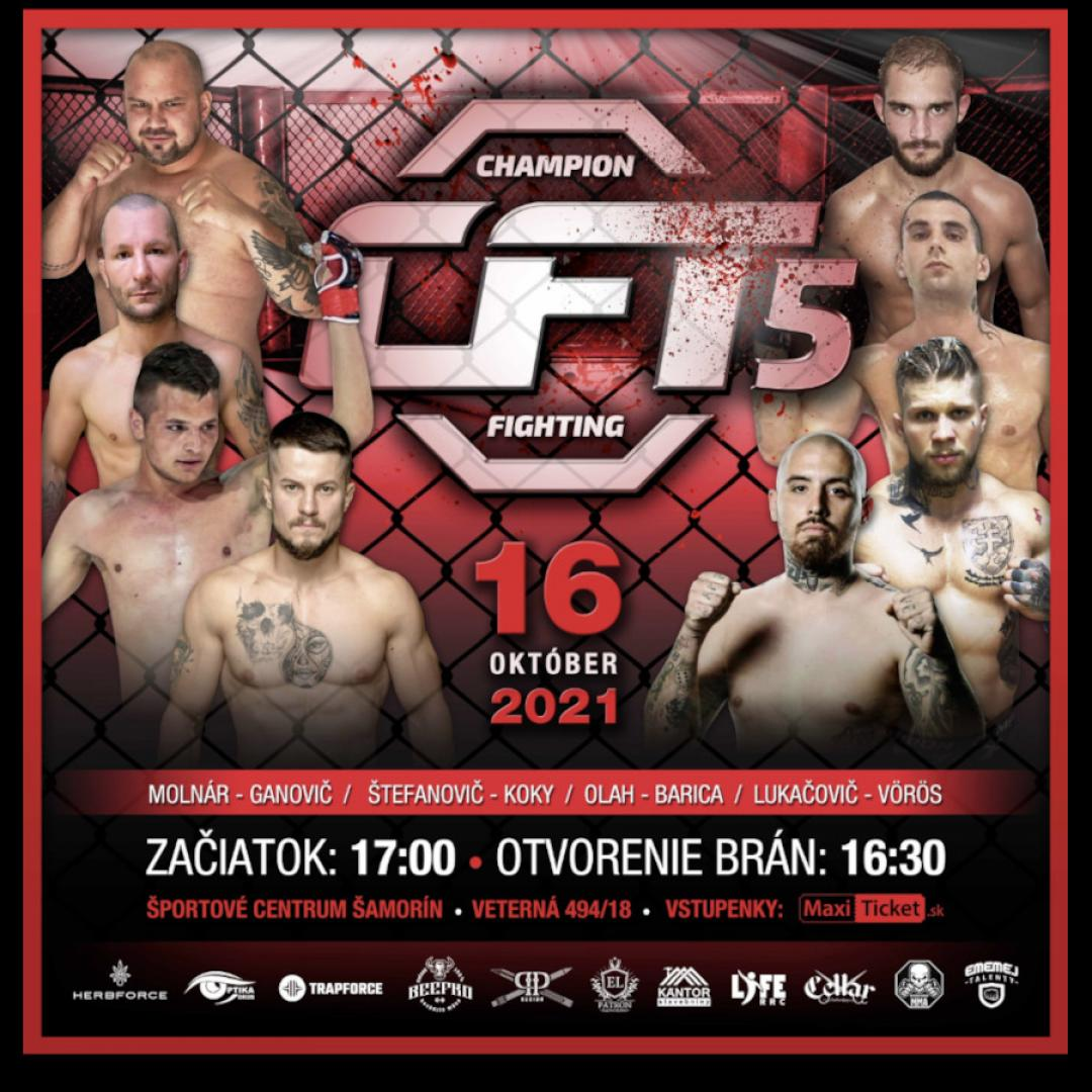 Champion Fighting 5 / Šamorín