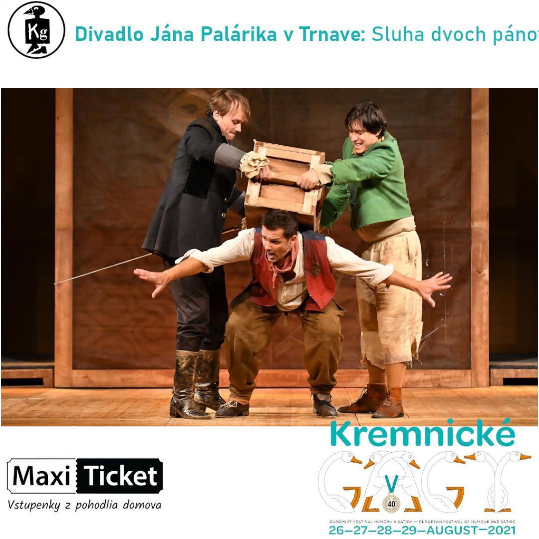 Divadlo Jána Palárika v Trnave: Sluha dvoch pánov