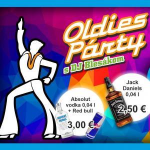 Oldies Párty s DJ Blesák / Trnava