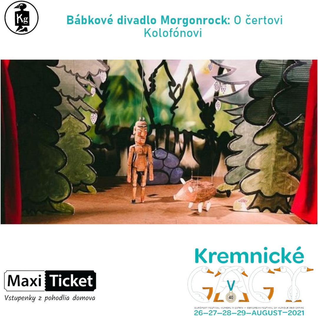 Bábkové divadlo Morgonrock: O čertovi Kolofónovi