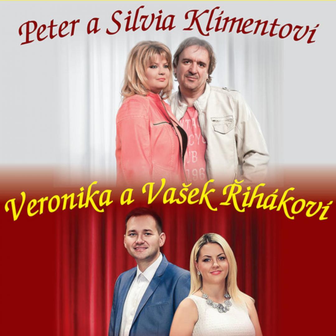 Silvia a Peter Klimentovci, Veronika a Vašek Řihákoví