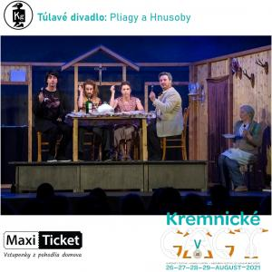 Túlavé divadlo: Pliagy a Hnusoby