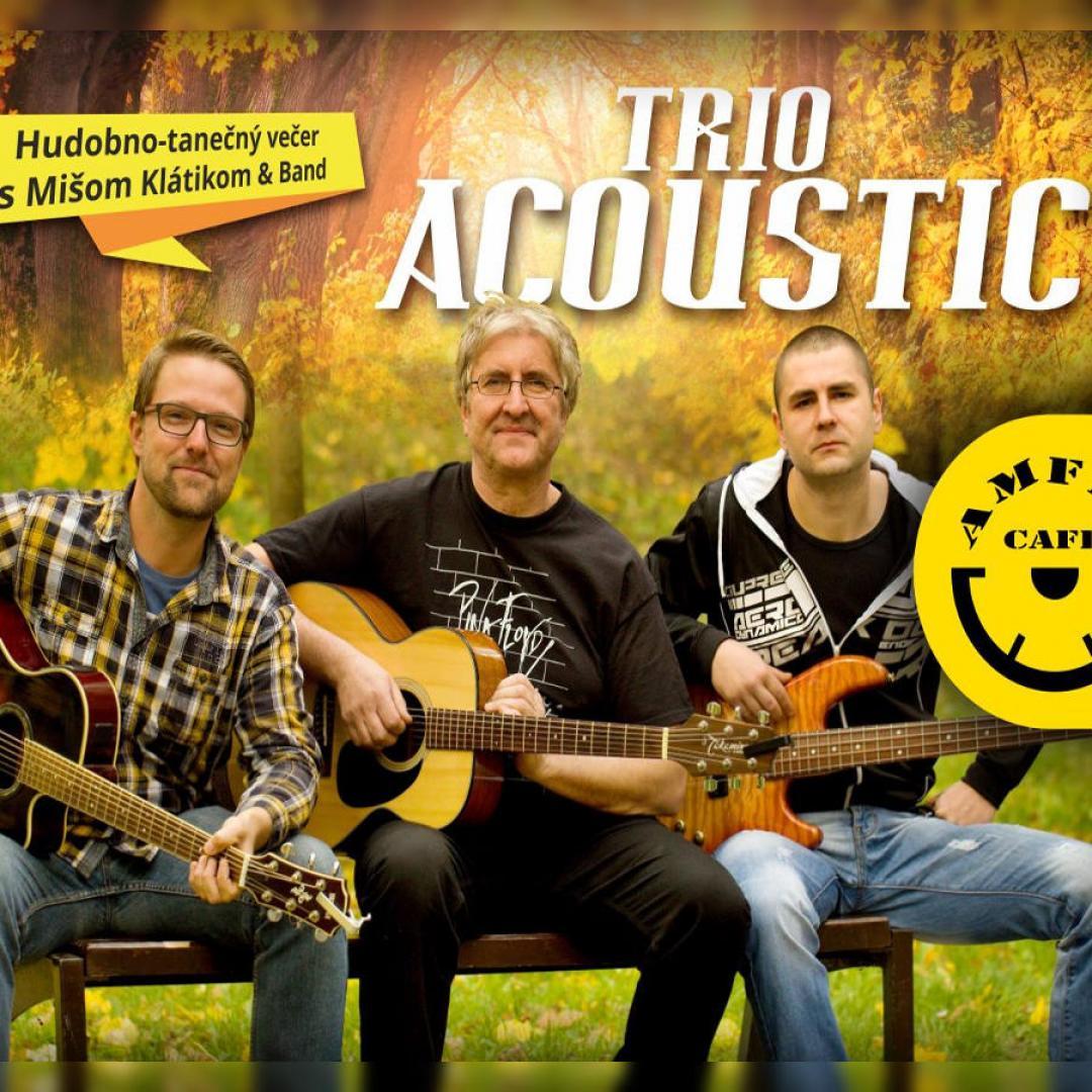 Hudobno-tanečný večer s TRIO Acoustic / Trnava