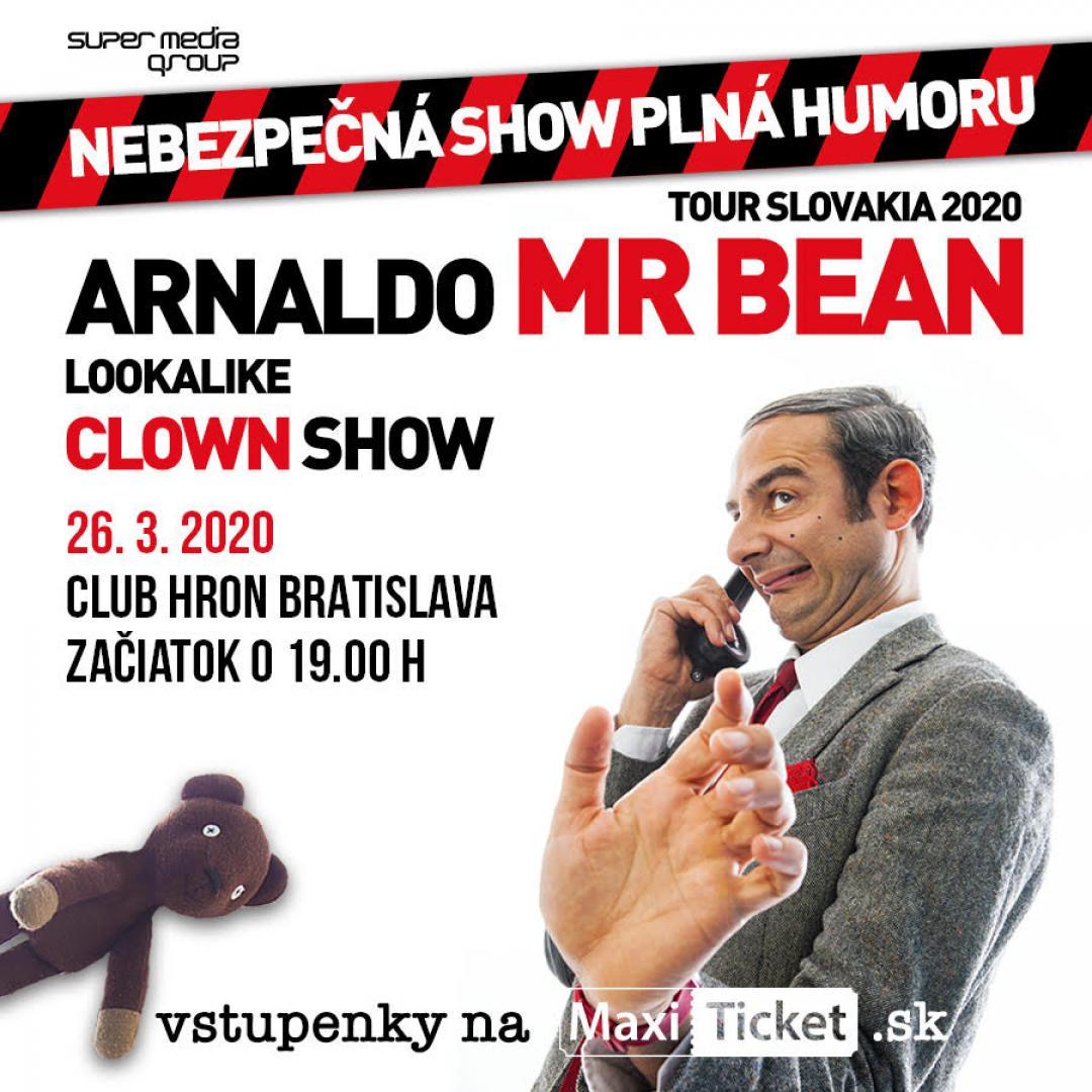 Mr.Bean lookalike clown show Slovensko / Bratislava