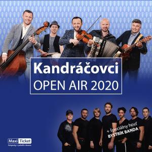 Kandráčovci OPEN AIR 2020 + Bystrík banda/ Sereď