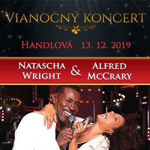 Vianočný koncert Natascha Wright & Alfred McCrary
