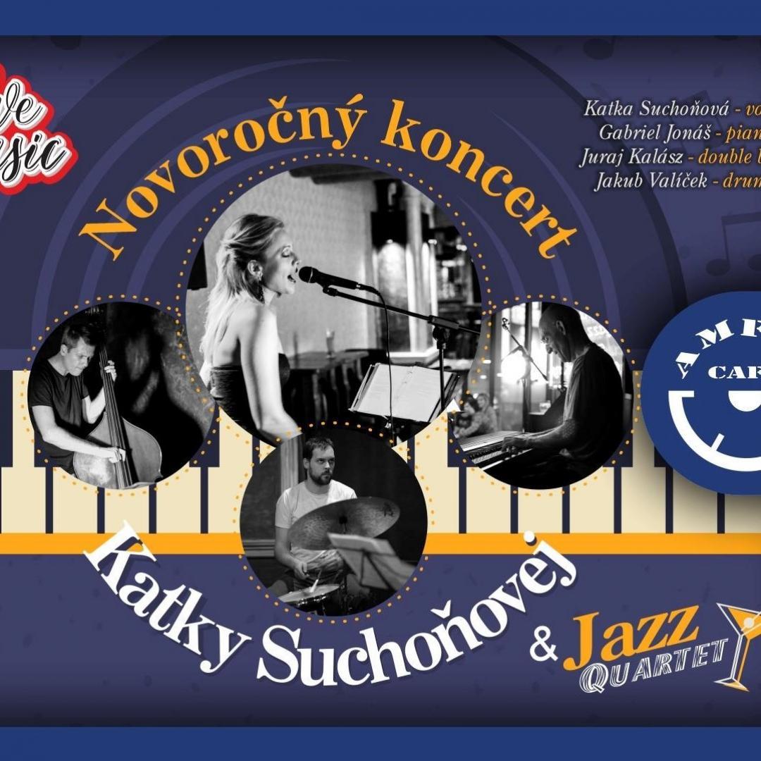 Novoročný koncert Katky Suchoňovej & Jazz Quartet / Trnava