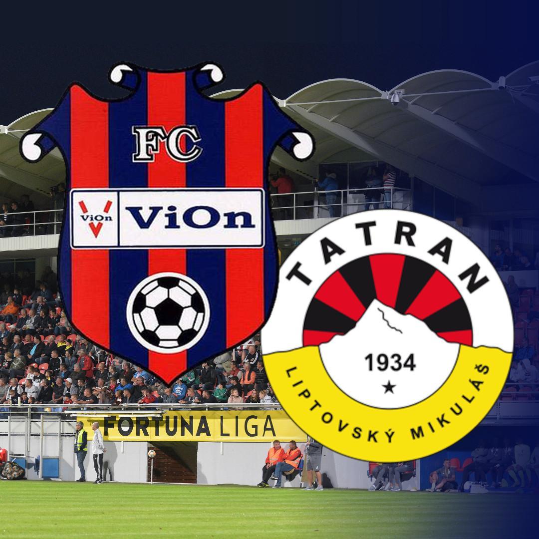 FC ViOn Zlaté Moravce-Vráble - MFK Tatran Liptovský Mikuláš