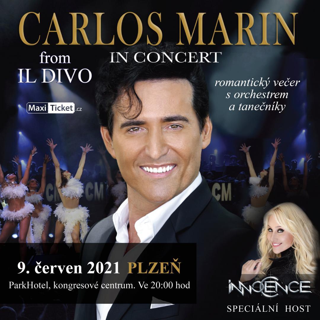 Carlos Marin from IL DIVO - Plzeň