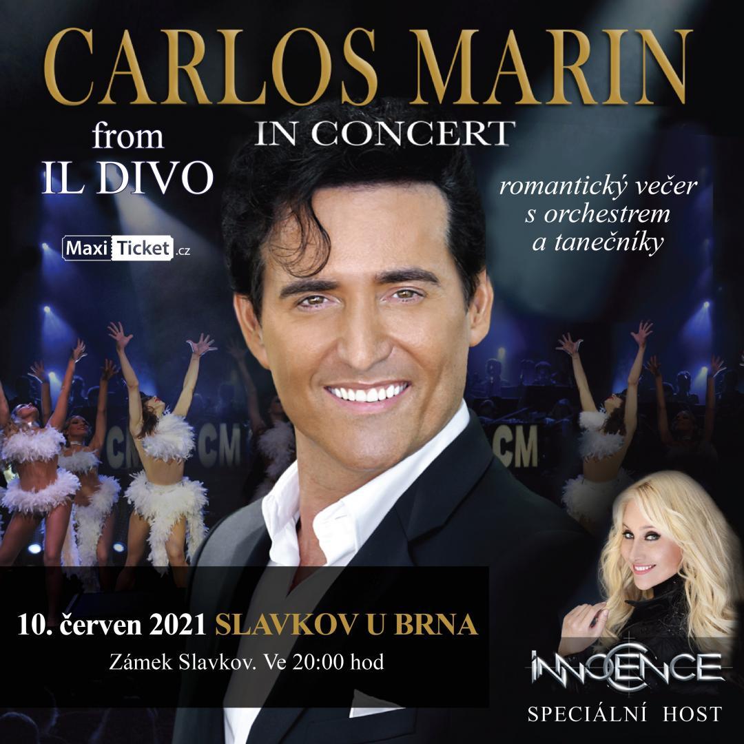 Carlos Marin from IL DIVO - Slavkov u Brna