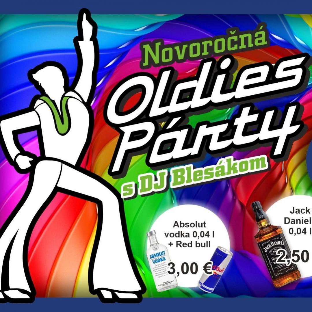 Novoročná Oldies Párty s DJ Blesák / Trnava