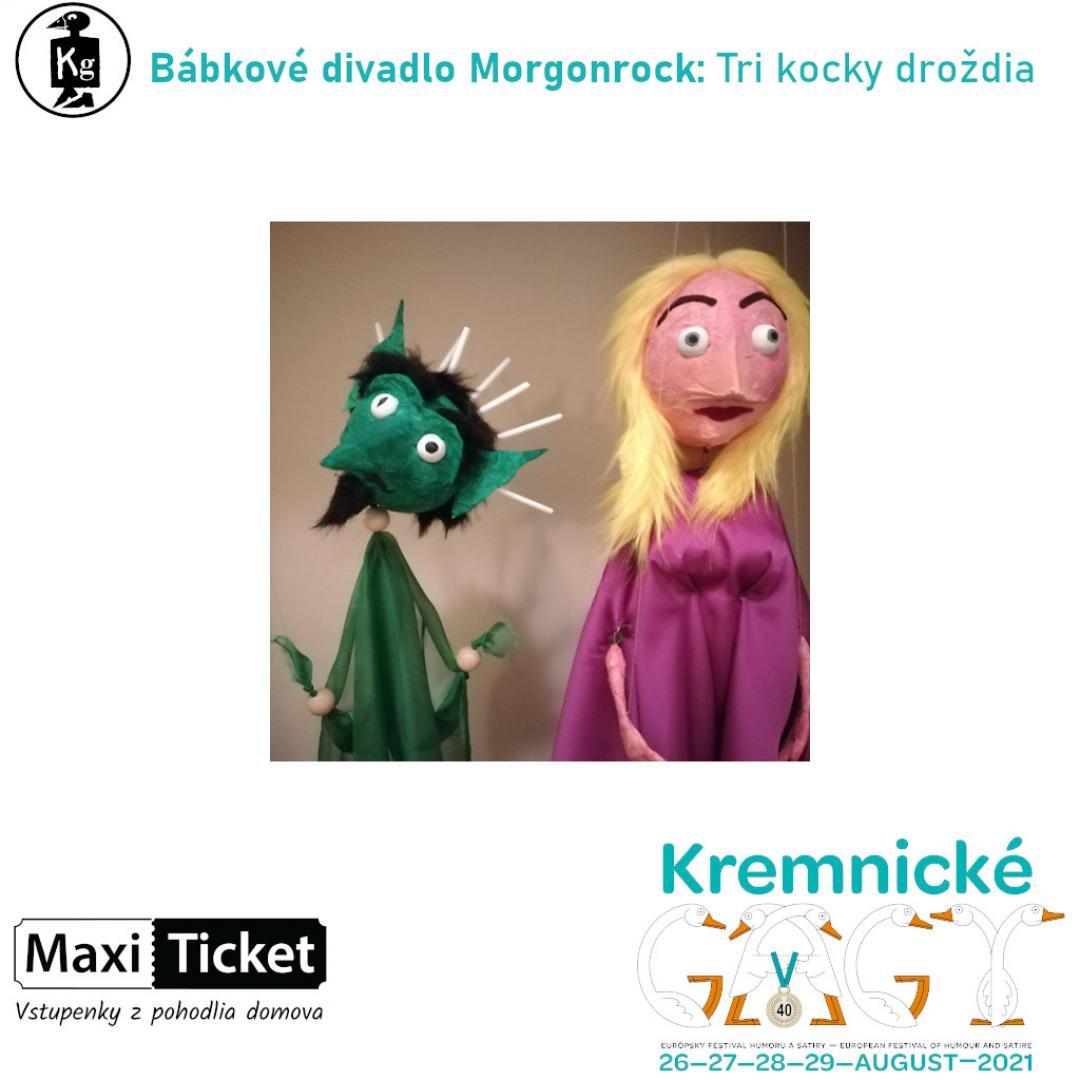 Bábkové divadlo Morgonrock: Tri kocky droždia